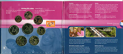 Netherland Cartera Euro Coin Set 2006  Official Issue