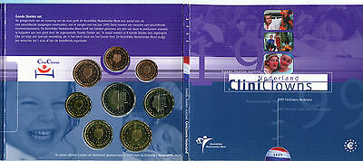 Netherland Cartera Euro Coin Set 1999  Official Issue