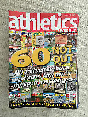 Athetics Weekly Magazines - part year 2010 - 30 issues