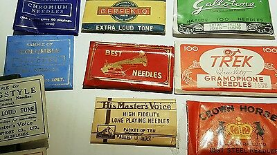 Gramophone Needle Packets