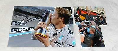 Nico Rosberg *Formel 1 Worldchampion 2016* original signed Photo 20x25 cm (8x10)