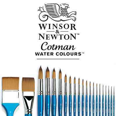 Winsor and Newton Cotman Watercolour Artists' Paint Brushes