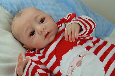 Reborn Baby Boy  From Moritz Kit By Sabine Wegner  From Vahni Gowing