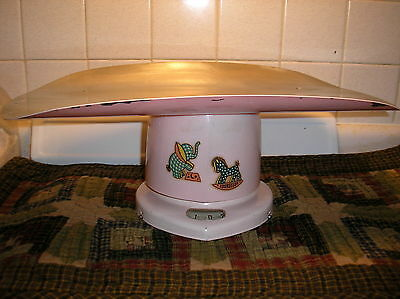 Vintage Pink Counselor Baby Scales