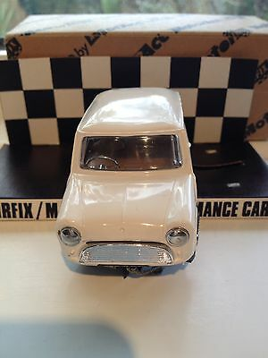 Three Scalextric Airfix /MRRC MINI COOPERs  IN THE BOX*** RARE***MINT CARS X3 .