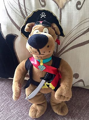 Very Rare Scooby Doo Talking Pirate Plush Toy