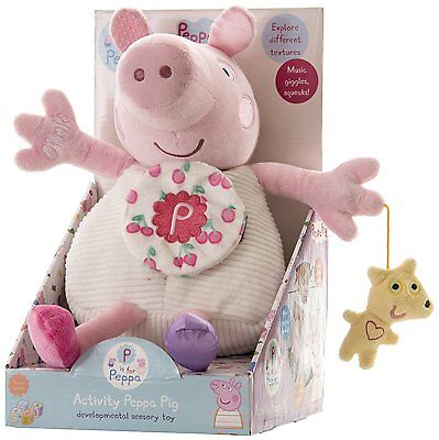 Peppa Pig Activity Toy Music Giggles and Squeaks