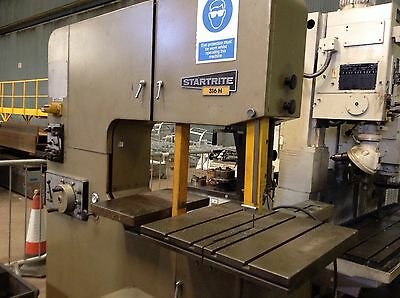 Startrite Verticle Bandsaw.