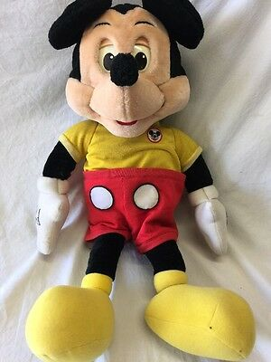 Vintage Worlds of Wonder Talking Mickey Mouse For Parts Or Repair