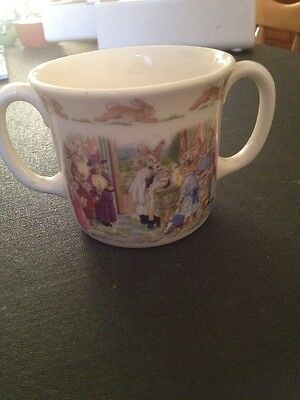 Royal Doulton Christening Cup Two Handled