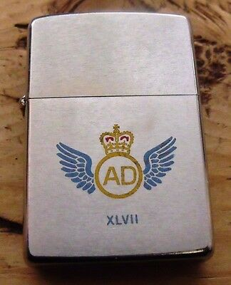1976 47 Air Despatch Squadron Royal Logistics Corps Zippo Lighter