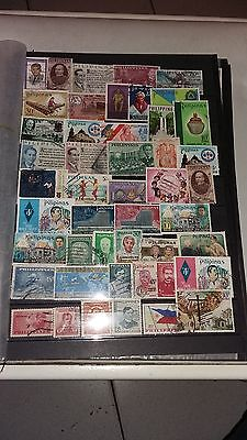 47 timbres Philippines (lot 26)
