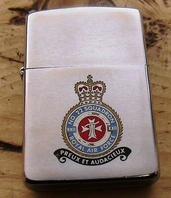 1980 Royal Air Force 22 Squadron (Search And Rescue) Zippo Lighter