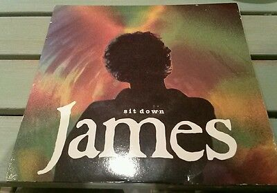 "James - Sit down 7"" vinyl record. Indie Manchester"