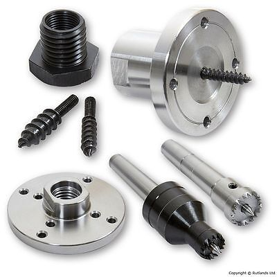 "Woodturning Accessory Upgrade Kit 1 - For 3/4"" x 16tpi Lathes"