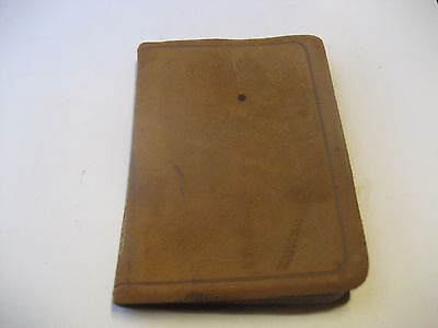 Antique Leather Bound 'gems From George Eliot' Publication/mini Book/collins
