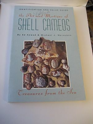Art & Mistique Of Shell Cameos Reference Book By Ed Aswad & Michael J Weinstein