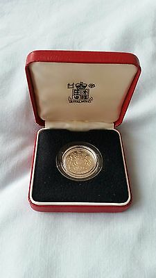 1983 United Kingdom Silver Proof One Pound £1 Coin