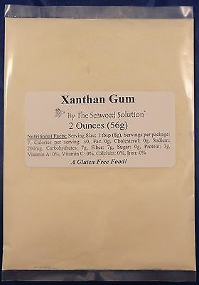 Xanthan Gum - Food Grade - 2 oz (56 grams)...U.S. SELLER!!!