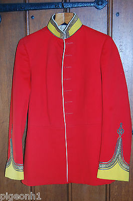 Officers Full Dress Tunic for Norfolk, Suffolk, Hampshire Regiments.