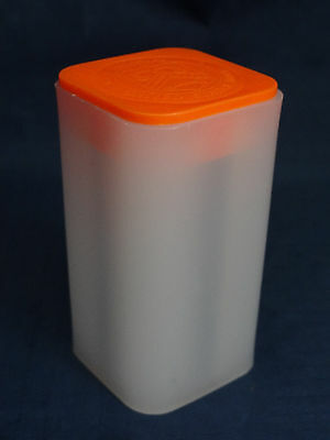 Empty 1 oz Gold American Buffalo Coin Tube, US Mint, Orange Lid –No Coins