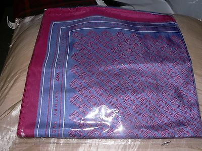 Cathay Pacific Airways 100% Silk Scarf 34x36 inches new