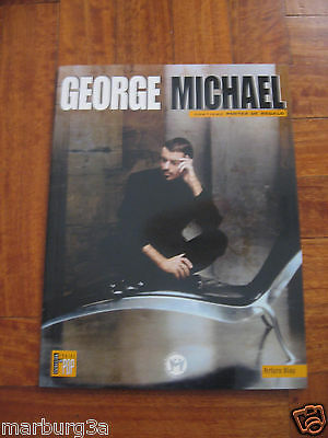 GEORGE MICHAEL  book  WITH PICTURES AND POSTER from SPAIN