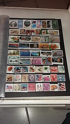 56 timbres USA (lot 27)
