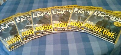 Empire film magazines Star Wars Rogue One full set of 6
