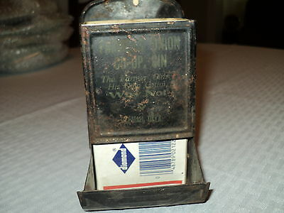 Antique Metal Matches Holder