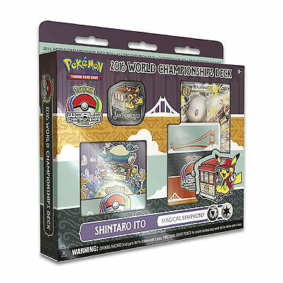 Pokemon Cards 2016 World Championships Deck Magical Symphony - Shintaro Ito