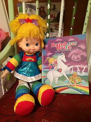 Rainbow Brite Doll and Book - New with Tags!