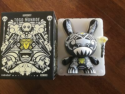 Dunny By Ilovedust  Togo Monroe 1000 Pieces Limited Kidrobot Kozik Huck Gee
