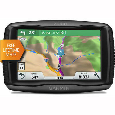 Motorcycle Garmin Zumo 595LM Motorcycle Sat Nav - Black UK Seller