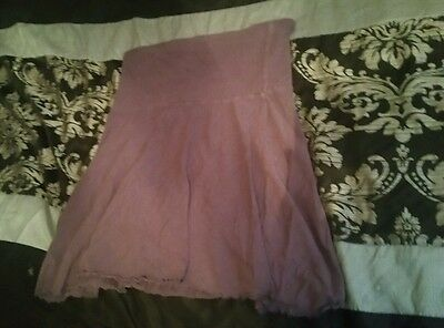 purple over bump maternity skirt size 10