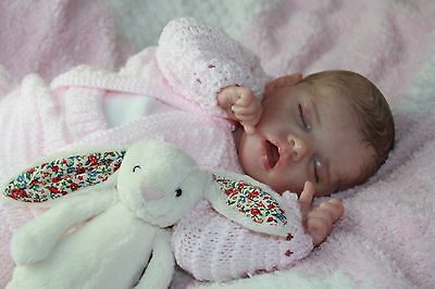 Reborn Baby Girl Twin A From Bonnie Brown  By Vahni Gowing