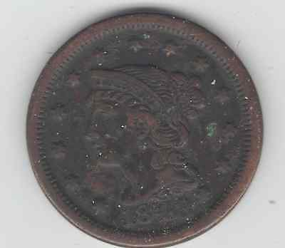 Us Large Cents  1848