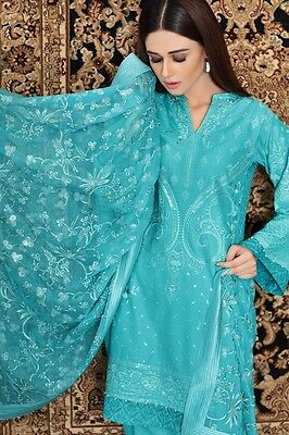 Gul Ahmed Premium Embroiderd Cambric Collection Shalwar Kameez