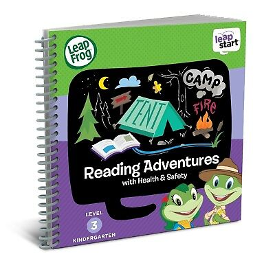 Leapfrog LeapStart Kindergarten Activity Book:Reading Adventures & Health & Safe