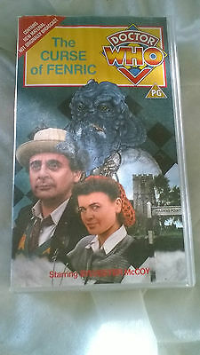 Doctor Who VHS The Curse Of Fenric Excellent Condition Dr Who