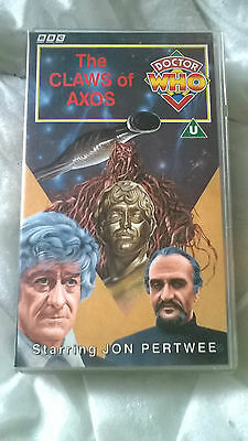 Doctor Who VHS The Claws Of Axos Excellent Condition Dr Who