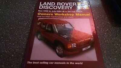 Land Rover Discovery Haynes Manual..1998-2004 (S To 04 Reg) Diesel