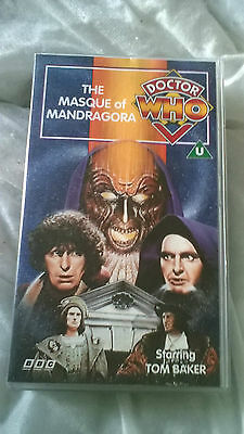 Doctor Who VHS The Masque Of Mandragora Excellent Condition Dr Who