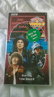 Doctor Who VHS The Androids Of Tara Excellent Condition Dr Who