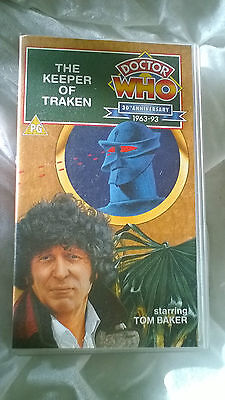 Doctor Who VHS Keeper Of Traken Excellent Condition Dr Who Tom Baker