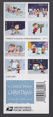 USA Forever 20 First-Class Stamps A CHARLIE BROWN CHRISTMAS