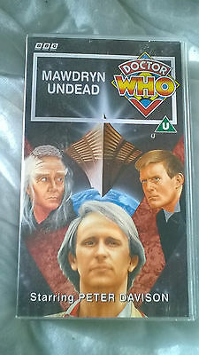 Doctor Who VHS Mawdryn Undead Excellent Condition Dr Who