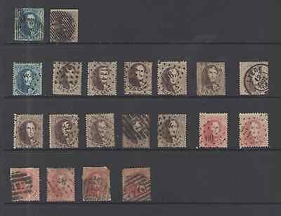 Belgium Stamps  Early Issues 20Pc