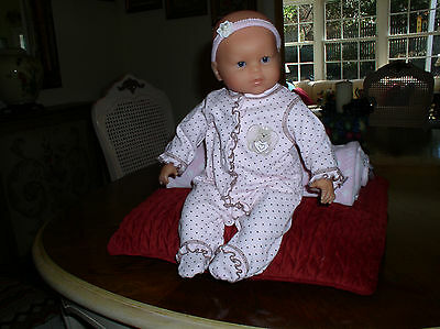 """Corolle France 17""""  Mon Classique - Lila Cherie Interactive Doll Exc. Wow!"""