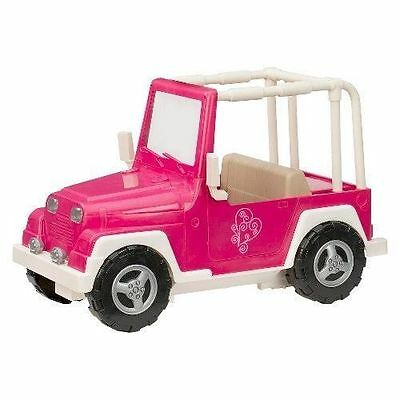 NEW Our Generation Doll 4x4 Jeep Car Convertible - Pink SHIPS TODAY!!!
